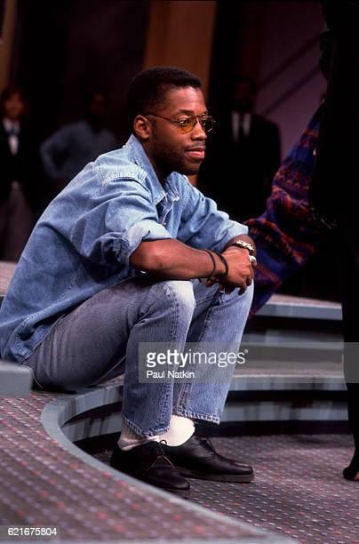 Kadeem Hardison on the Oprah Winfrey Show in Chicago Illinois December 14 1990