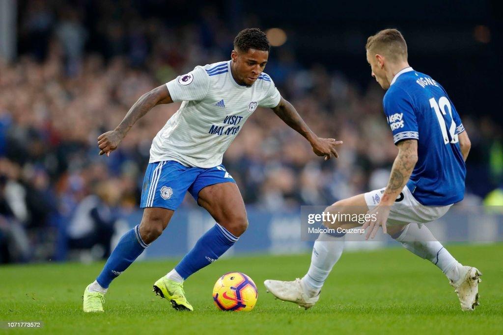 Everton FC v Cardiff City - Premier League : News Photo