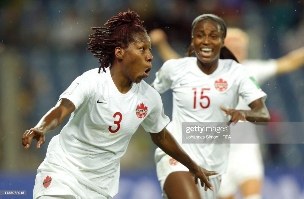 Canada v Cameroon: Group E - 2019 FIFA Women's World Cup France : News Photo