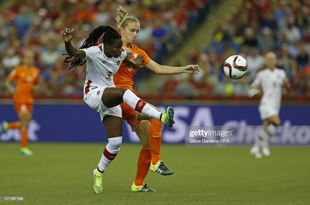 Netherlands v Canada: Group A - FIFA Women's World Cup 2015 : News Photo