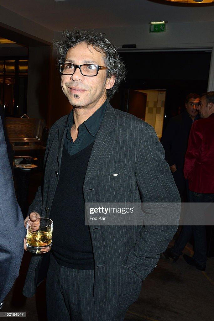 Kader Boukhanef attends The Burgundy Hotel Compilation CD Launch Party on November 26, 2013 in Paris, France.