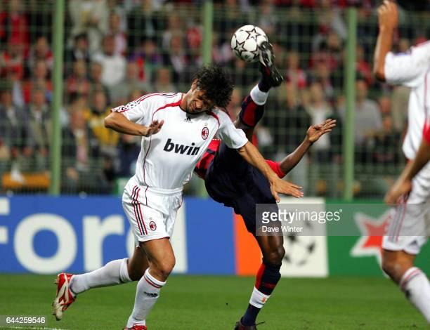 Kader KEITA / Kakha KALADZE Lille / Milan AC Champions League Stade FelixBollaert Lens Photo Dave Winter / Icon Spor