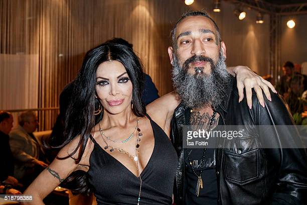 Kader Loth and Senay Gueler attend the Spirit of Istanbul Festival on April 02 2016 in Berlin Germany