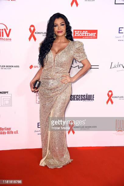 Kader Loth attends the Artists Against Aids Gala 2019 at Theater des Westens on November 11 2019 in Berlin Germany