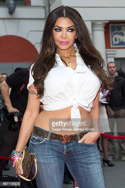 Kader Loth attends the 'Dirty Dancing' musical premiere at Admiralspalast on April 27 2014 in Berlin Germany