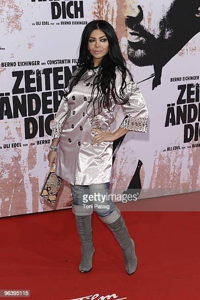 Kader Loth attends the premiere of Zeiten aendern Dich on February 3 2010 in Berlin Germany