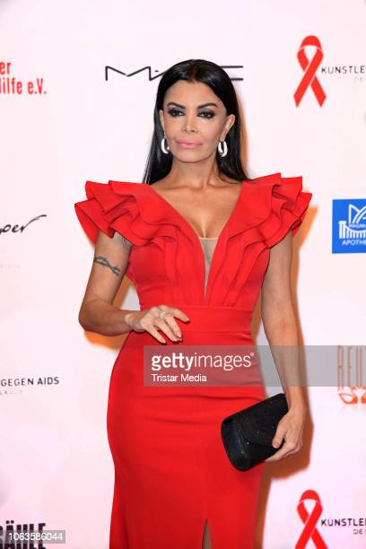 Kader Loth during the Artists Against Aids Gala at Stage Theater des Westens on November 19 2018 in Berlin Germany