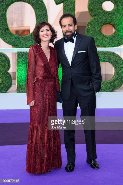 Kader Nouni attends the Wimbledon Champions Dinner at The Guildhall on July 15 2018 in London England