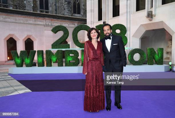 Kader Nouni attends the Wimbledon Champions Dinner at The Guildhall on July 15, 2018 in London, England.