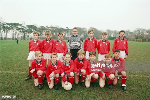 Kader v Marton Under 12's league cup semi final Pictured are Marton back row leftright Chris Fox Chris Culley Danny Worthy John Mohan David Matthews...