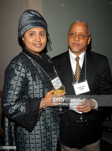 Kadiatou Diallo and her husband San Karela Diallo hte parents of Amadou Diallo