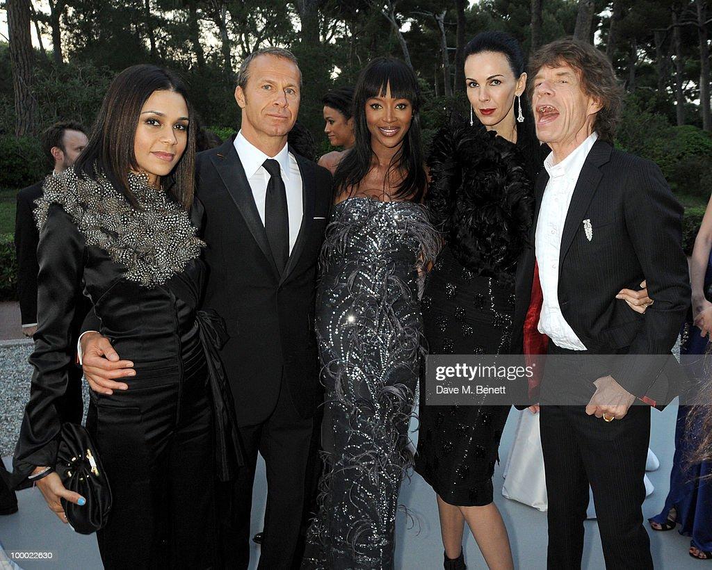 Kadida Jones, Vladislav Doronin, Naomi Campbell, L'Wren Scott and ...