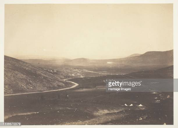 Kadikoi, from Camp of Horse Artillery, 1855. A work made of salted paper print, from the album 'photographic pictures of the seat of war in the...