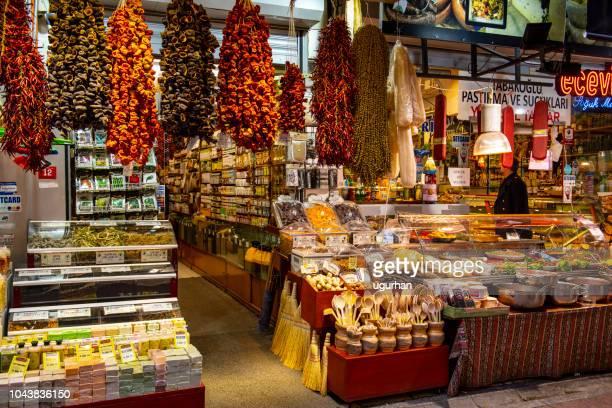 kadikoy street bazaar. - kadikoy stock photos and pictures