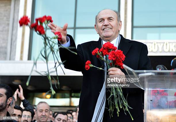 Kadir Topbas Istabul's current mayor and mayoral candidate of the ruling Justice and Development Party for 2014 local elections for Istanbul which...