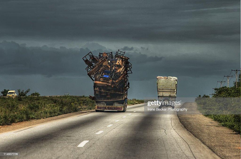 Kaduna Abuja Expressway : Stock Photo