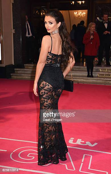 Kady McDermott attends the ITV Gala hosted by Jason Manford at London Palladium on November 24 2016 in London England