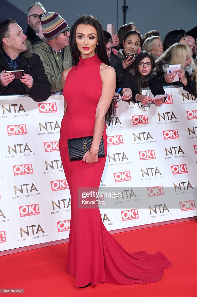 Kady McDermott attends the National Television Awards at The O2 Arena on January 25, 2017 in London, England.