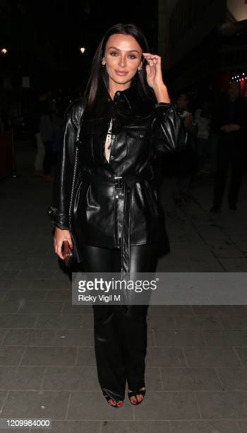 Kady McDermott seen attending Pretty Woman - press night at Piccadilly Theatre on March 02, 2020 in London, England.