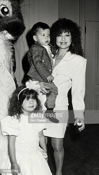 Kady Riklis Christopher Riklis and Pia Zadora during 8th Annual Mother Daughter Fashion Show at Beverly Hilton Hotel in Beverly Hills CA United States