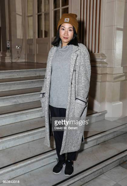 Kae Alexander attends the after party following a fundraising performance of The Trial Of Richard III at The Waldorf Hilton Hotel on April 29 2018 in...