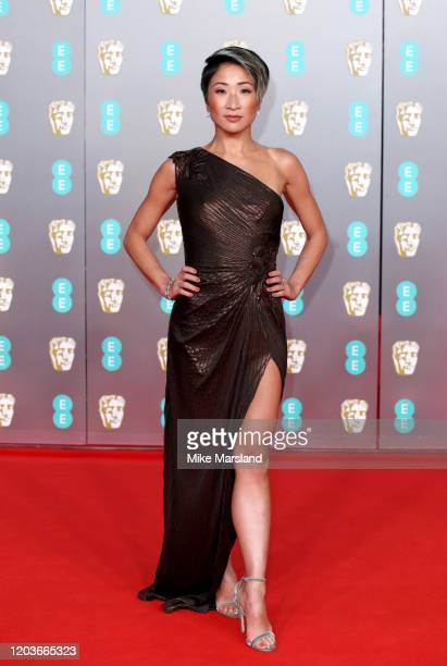 Kae Alexander attends the EE British Academy Film Awards 2020 at Royal Albert Hall on February 02 2020 in London England