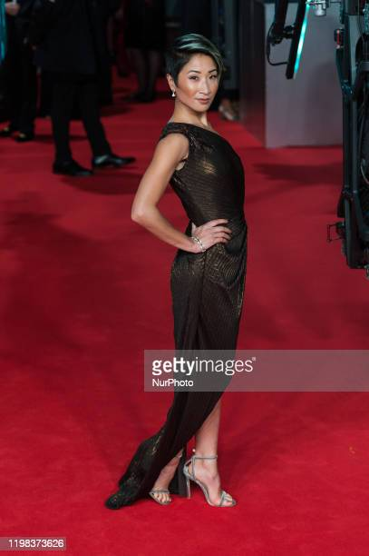 Kae Alexander attends the EE British Academy Film Awards ceremony at the Royal Albert Hall on 02 February 2020 in London England