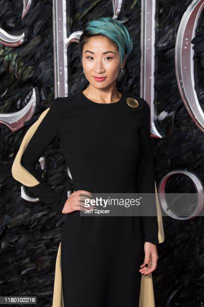 Kae Alexander attends the European premiere of Maleficent Mistress of Evil at Odeon IMAX Waterloo on October 09 2019 in London England