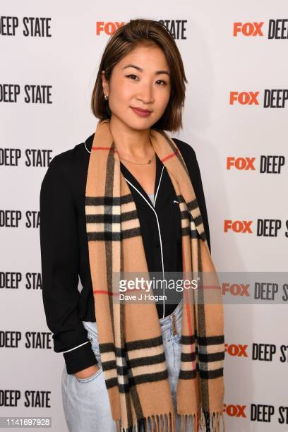 Kae Alexander attends the season 2 launch of Deep State at The Ham Yard Hotel on April 09 2019 in London England