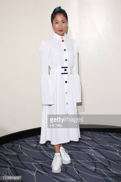 Kae Alexander attends the World Fashion Awards at The Savoy Hotel on September 18 2019 in London England
