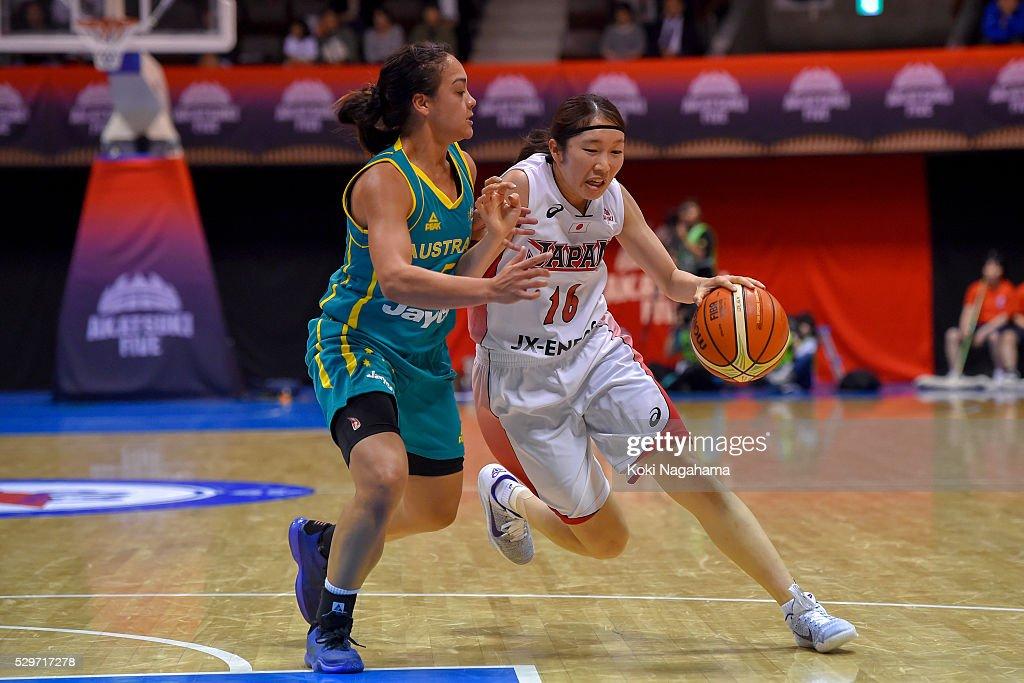 Japan v Australia - Women's Basketball International Friendly : ニュース写真