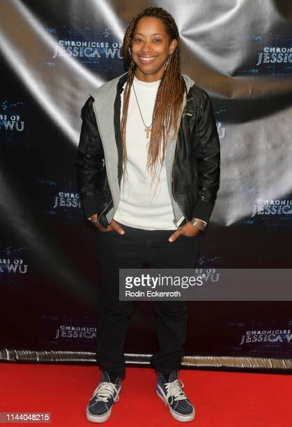 Kaela Brown attends the Chronicles of Jessica Wu Season 2 premiere at SAGAFTRA Foundation Screening Room on April 20 2019 in Los Angeles California