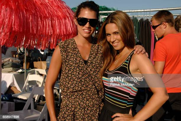 Kaelyn Silverstein and Elli Hodjat attend DONNA KARAN ARIEL FOXMAN and INSTYLE along with KELLY RIPA and BLAKE LIVELY present SUPER SATURDAY 12 at...
