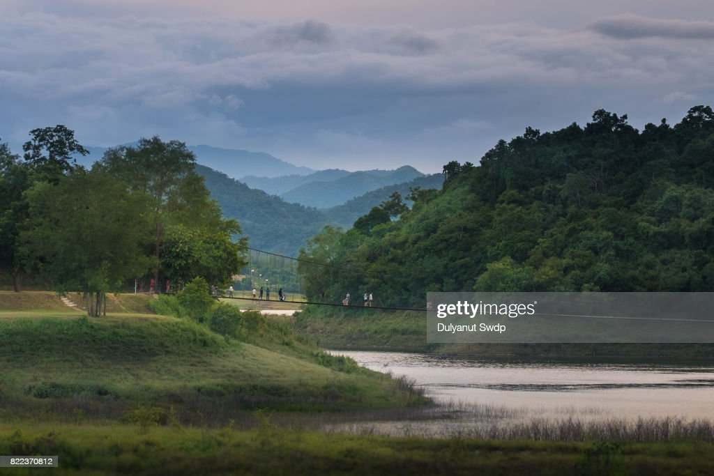 Kaeng Krachan Dam of Phetchaburi, Thailand : Stock Photo