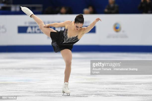 Kaetlyn Osmond of Canada competes in the Ladies free skating during the ISU Junior Senior Grand Prix of Figure Skating Final at Nippon Gaishi Hall on...