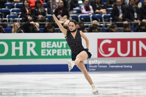 Kaetlyn Osmond of Canada competes in the Ladies short progam during the ISU Junior Senior Grand Prix of Figure Skating Final at Nippon Gaishi Hall on...
