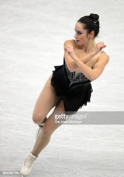 Kaetlyn Osmond of Canada competes in the Ladies Singles Free Skating during day three of the ISU Junior Senior Grand Prix of Figure Skating Final at...