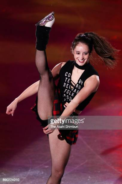 Kaetlyn Osmond of Canada performs in the gala exhibition during day four of the ISU Junior Senior Grand Prix of Figure Skating Final at Nippon Gaishi...