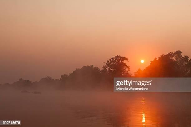 Kafue River at Dawn
