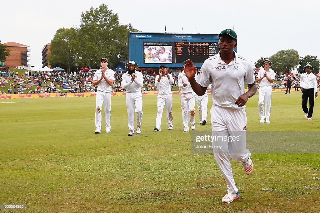 South Africa v England - Fourth Test: Day Three