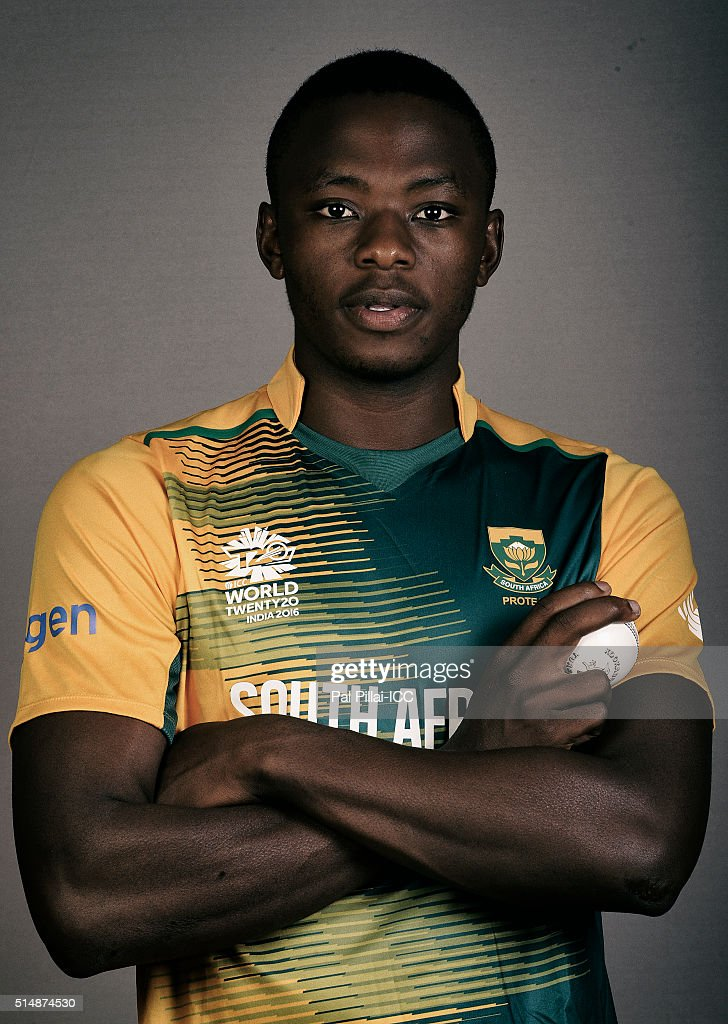 Kagiso Rabada of South Africa poses during the official photocall for the ICC Twenty20 World on March 11, 2016 in Mumbai, India.