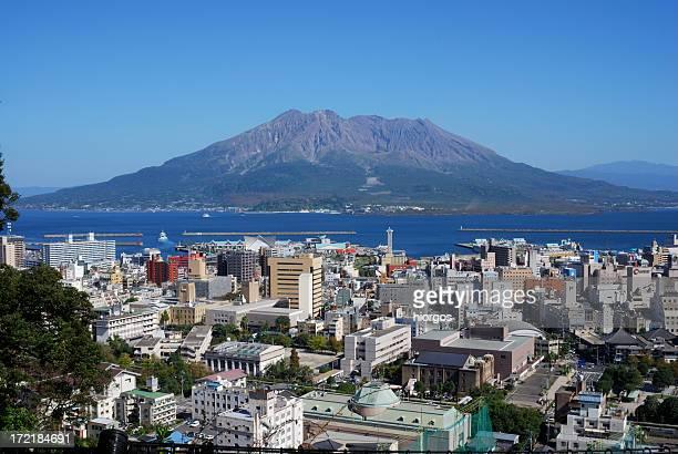 鹿児島と sakurajima