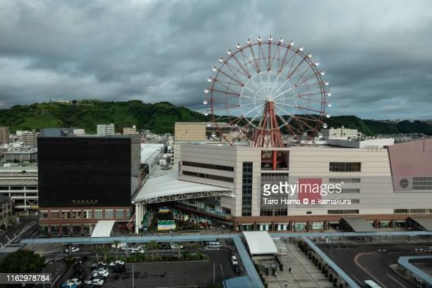 jr kagoshimachuo station in kagoshima city - 鹿児島県 ストックフォトと画像