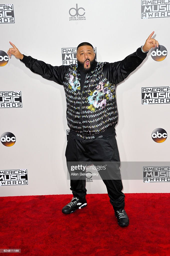 DJ Kahled arrives at the 2016 American Music Awards at Microsoft Theater on November 20, 2016 in Los Angeles, California.