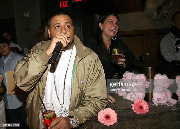 DJ Kahlid and Angie Martinez of HOT 971 FM in NYC