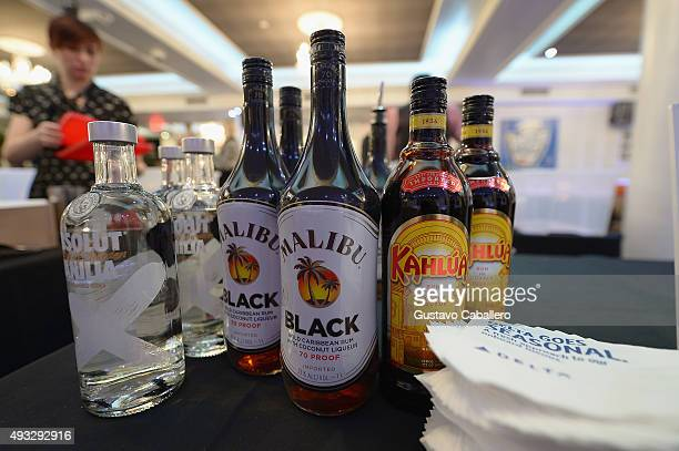 Kahlua Malibu and Absolut on display at Mixology Masters Hosted By Ted Allen part of LOCAL Presented By Delta Air Lines during Food Network Cooking...