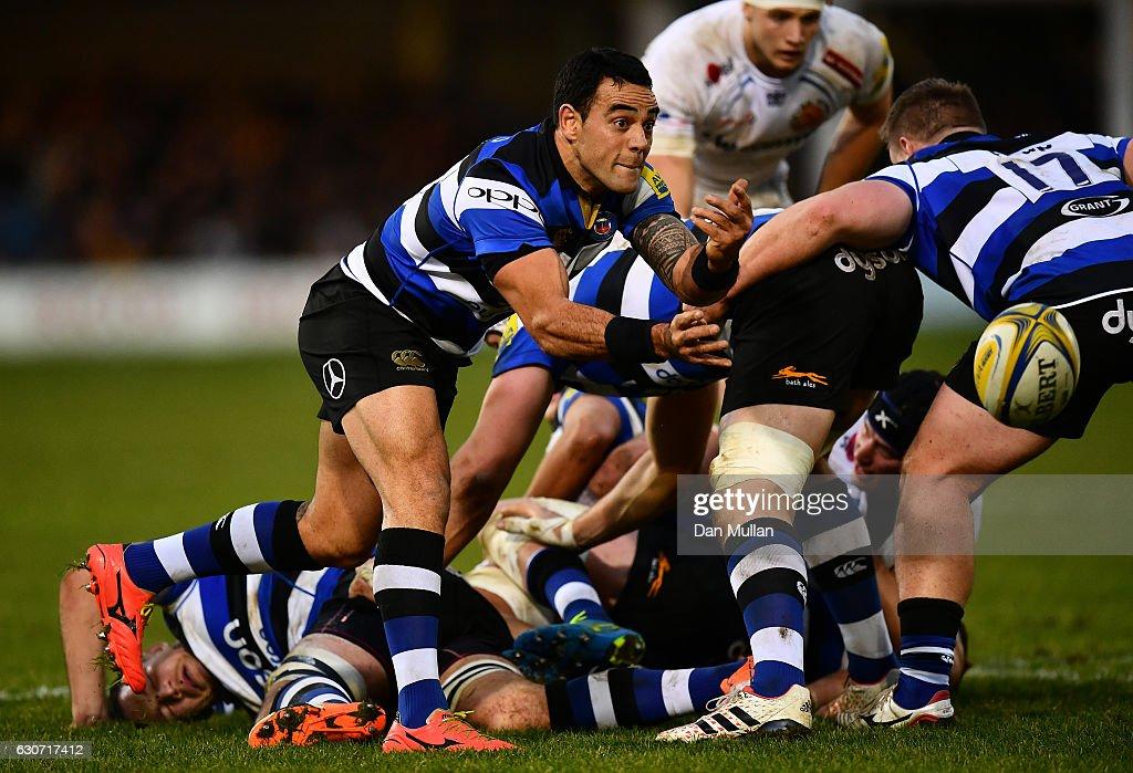 Bath Rugby v Exeter Chiefs - Aviva Premiership : News Photo