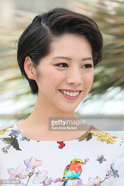 Kaho attends the 'Notre Petite Soeur' photocall during the 68th annual Cannes Film Festival on May 14 2015 in Cannes France