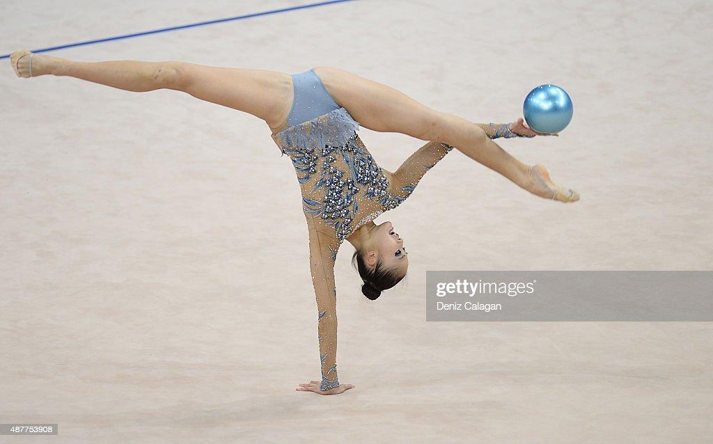 Rhythmic Gymnastics World Championships 2015 - Day 5 : News Photo