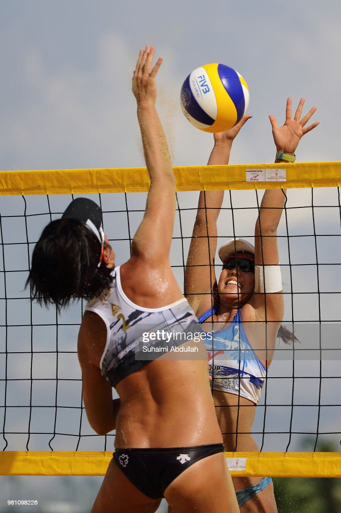 FIVB Beach Volleyball World Tour Singapore - Day 1